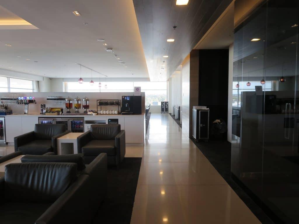 air new zealand sydney international lounge flur 2
