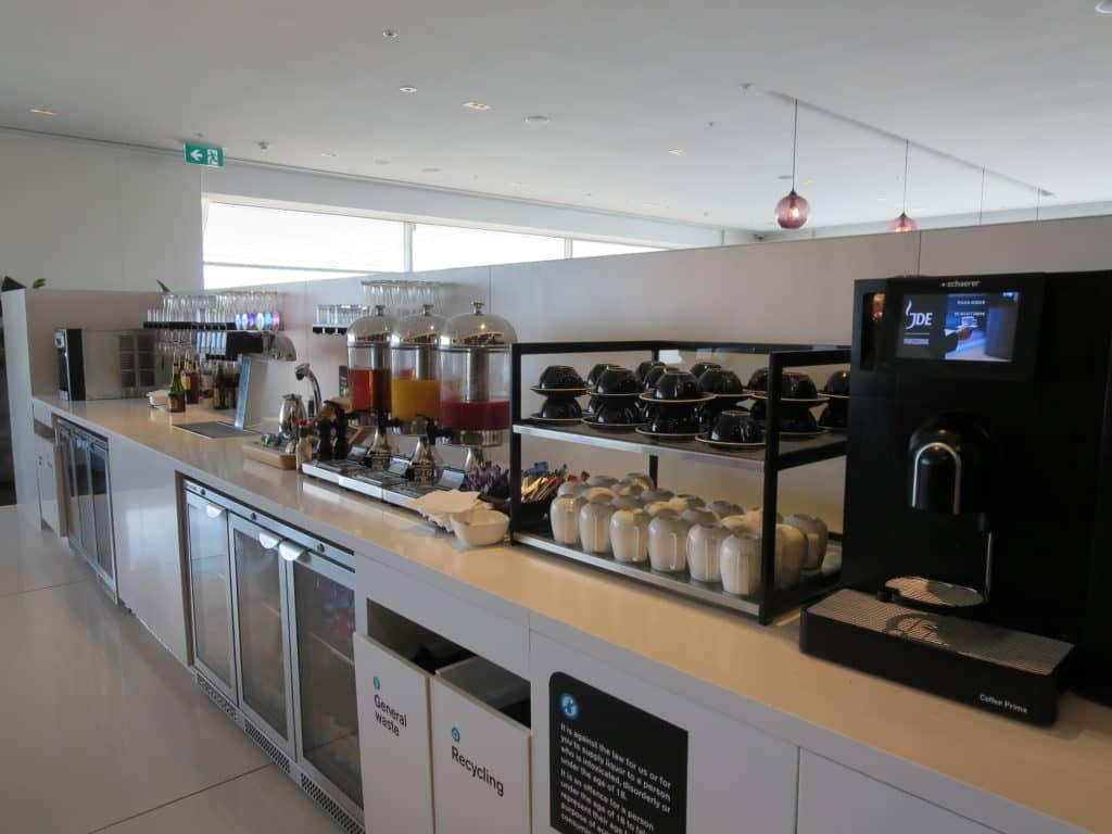 air new zealand sydney international lounge getraenke 1