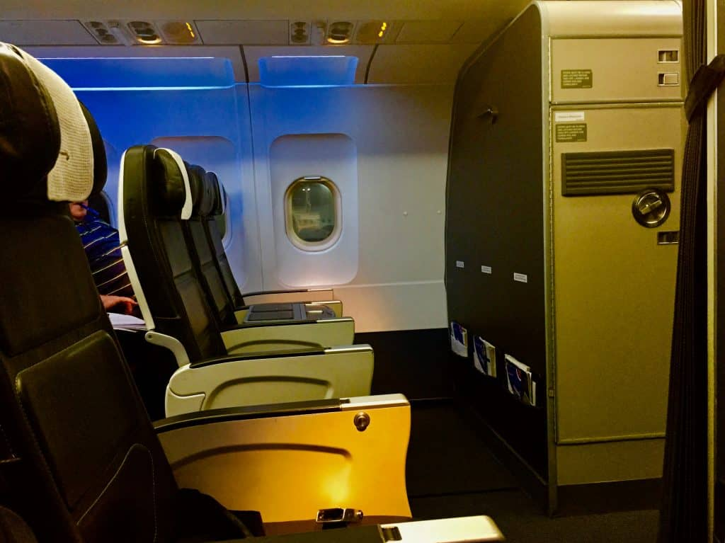 British Airways Business Class auf der Kurzstrecke