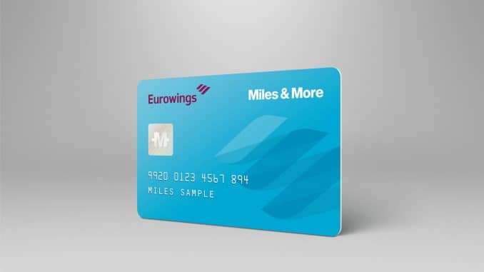 eurowings miles and more teilnehmerkarte