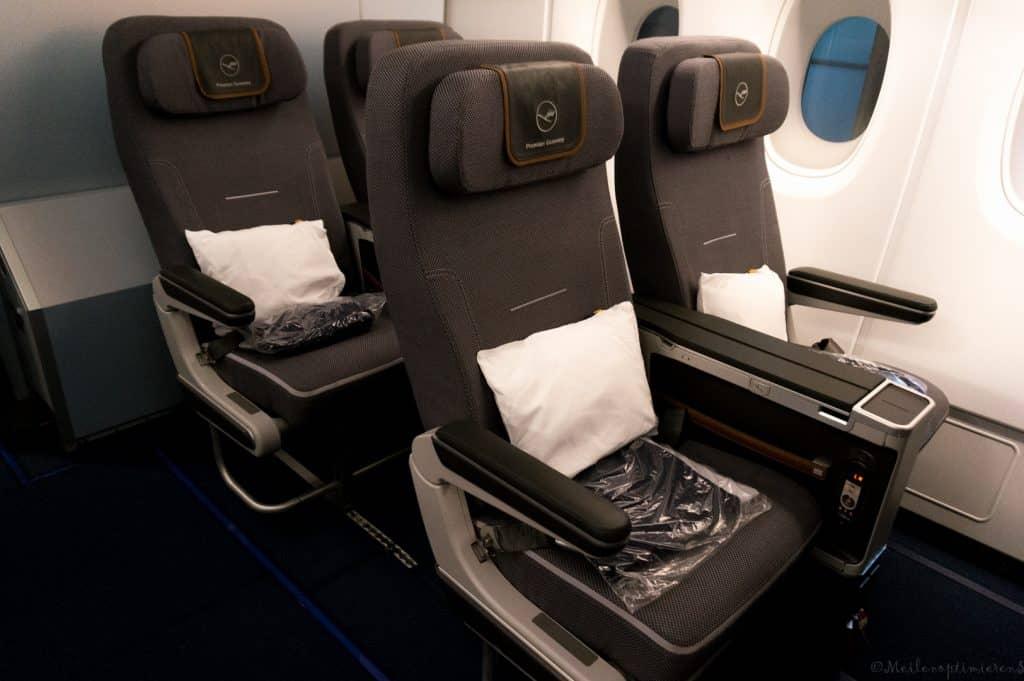 Die derzeitige Lufthansa Premium Economy Class