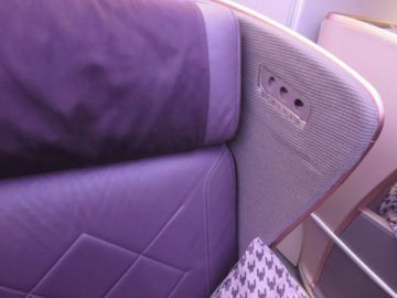 singapore airlines business class a350 sitz verschalung