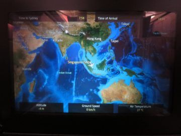 singapore airlines business class a380 entertainment flightshow