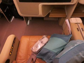 singapore airlines business class a380 sitz 2