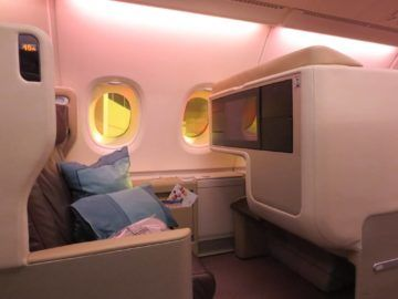 singapore airlines business class a380 sitz 4