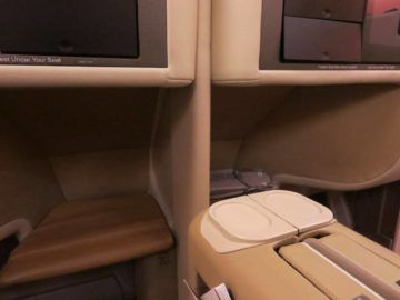 singapore airlines business class a380 sitz 7