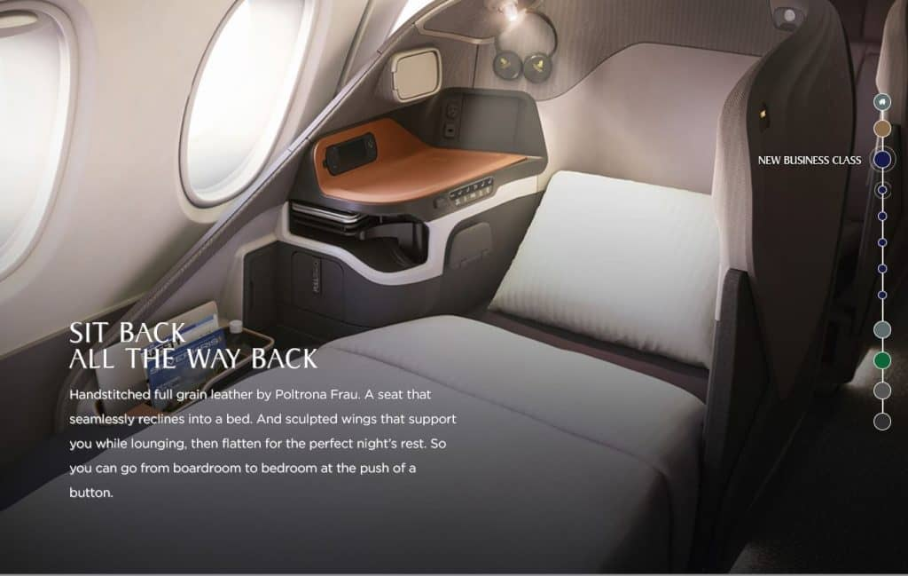 singapore airlines neue business class 1