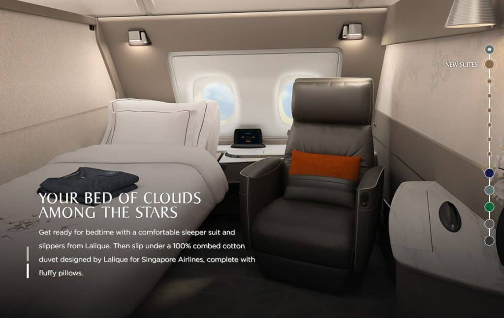 singapore airlines neue suites class 1