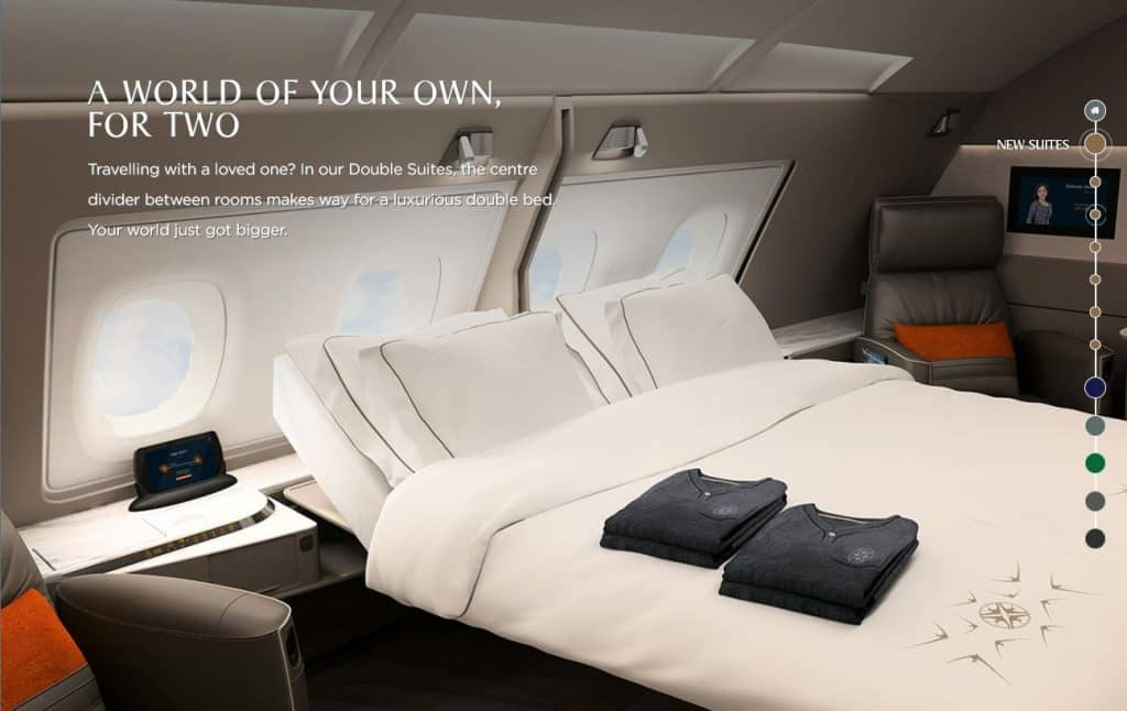 Die neue Singapore Airlines Suite &copy Singapore Airlines