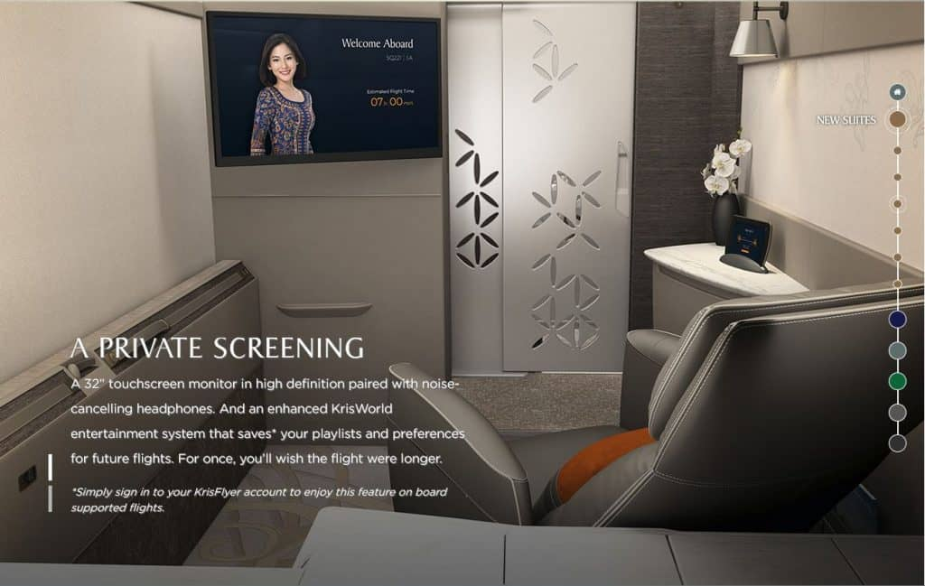 singapore airlines neue suites class 3