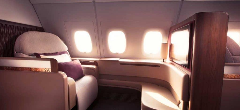 qatar a380 first class seat