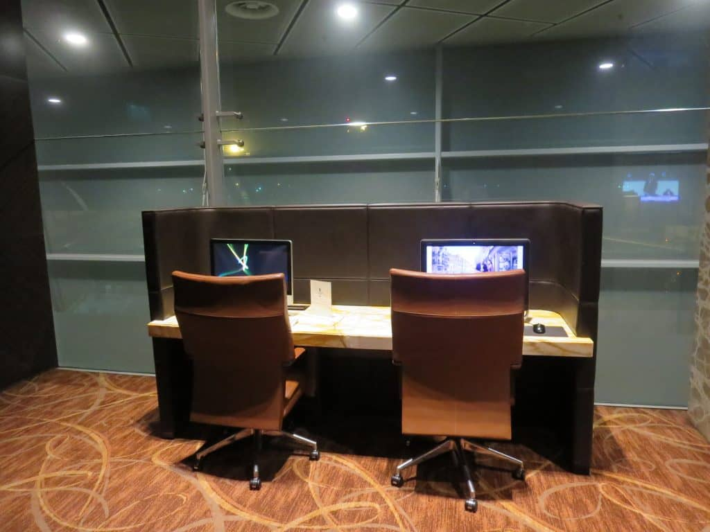 singapore airlines private room computer