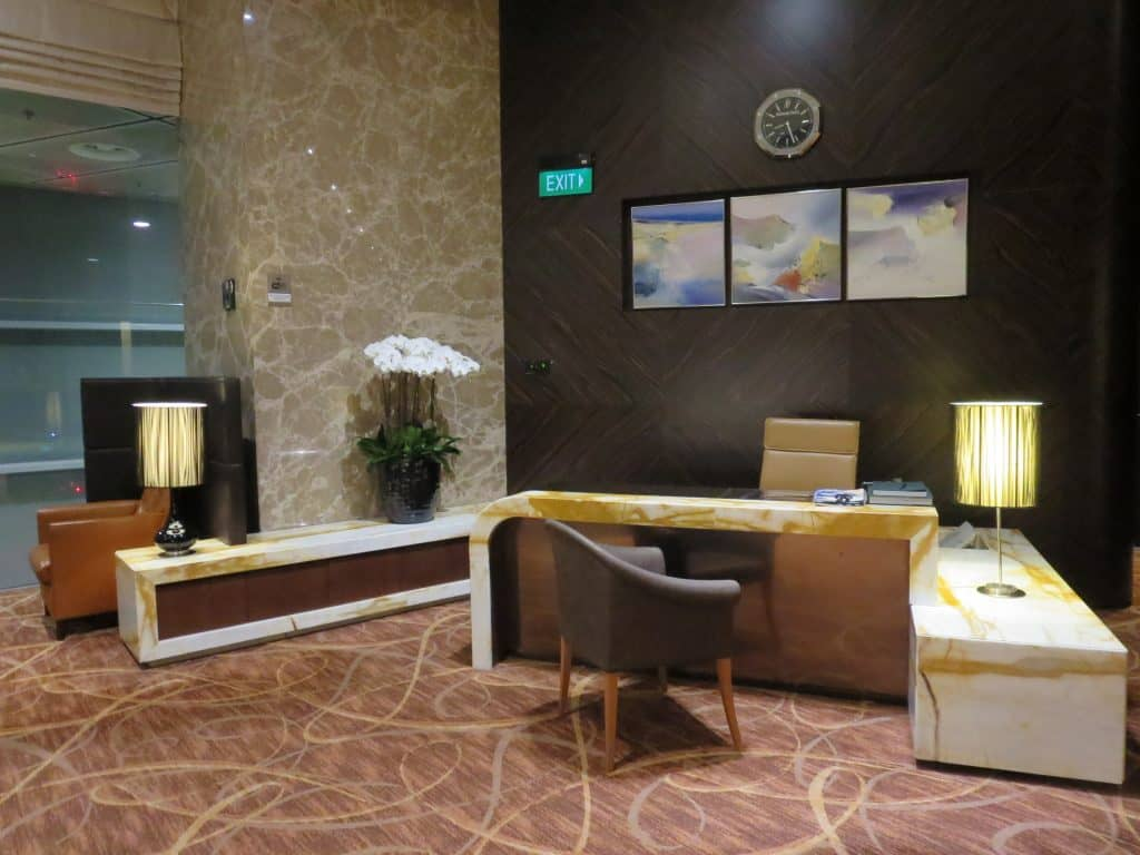 singapore airlines private room empfang