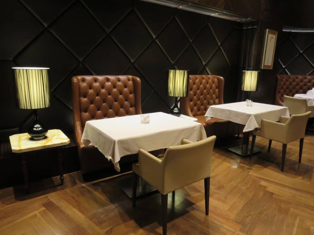 singapore airlines private room restaurant 2
