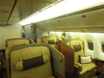 singapore airlines first class boeing 777 kabine 2
