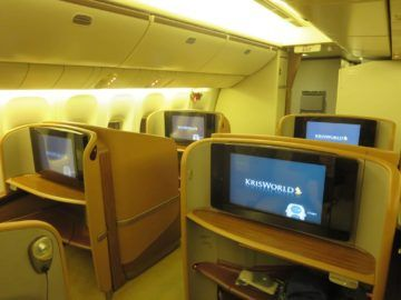 singapore airlines first class boeing 777 kabine 4