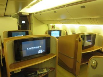singapore airlines first class boeing 777 kabine 5