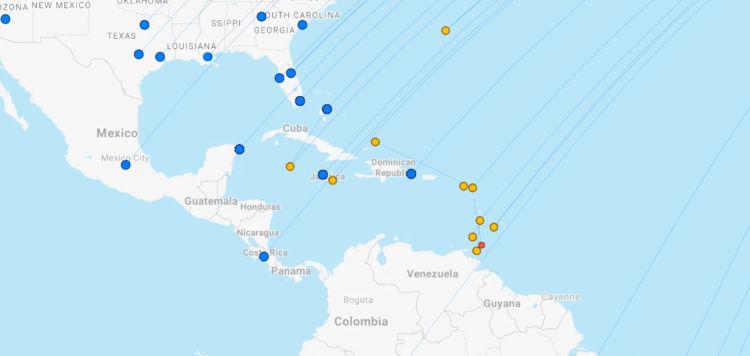 British Airways Ziele Karibik April 2021