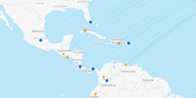 Iberia Ziele Karibik April 2021