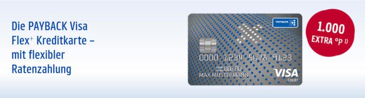 Payback Visa Flex Plus Uebersicht