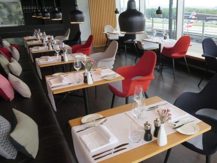 Swiss First Class Lounge Zuerich E Restaurant 1 4 3