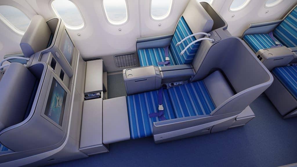 LOT Business Class an Bord der Boeing 787 (Dreamliner) © lot.com