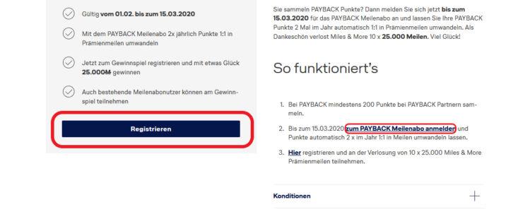 Payback Payback Gewinnspiel Miles And More Maerz 2020 Registrieren und anmeldenn