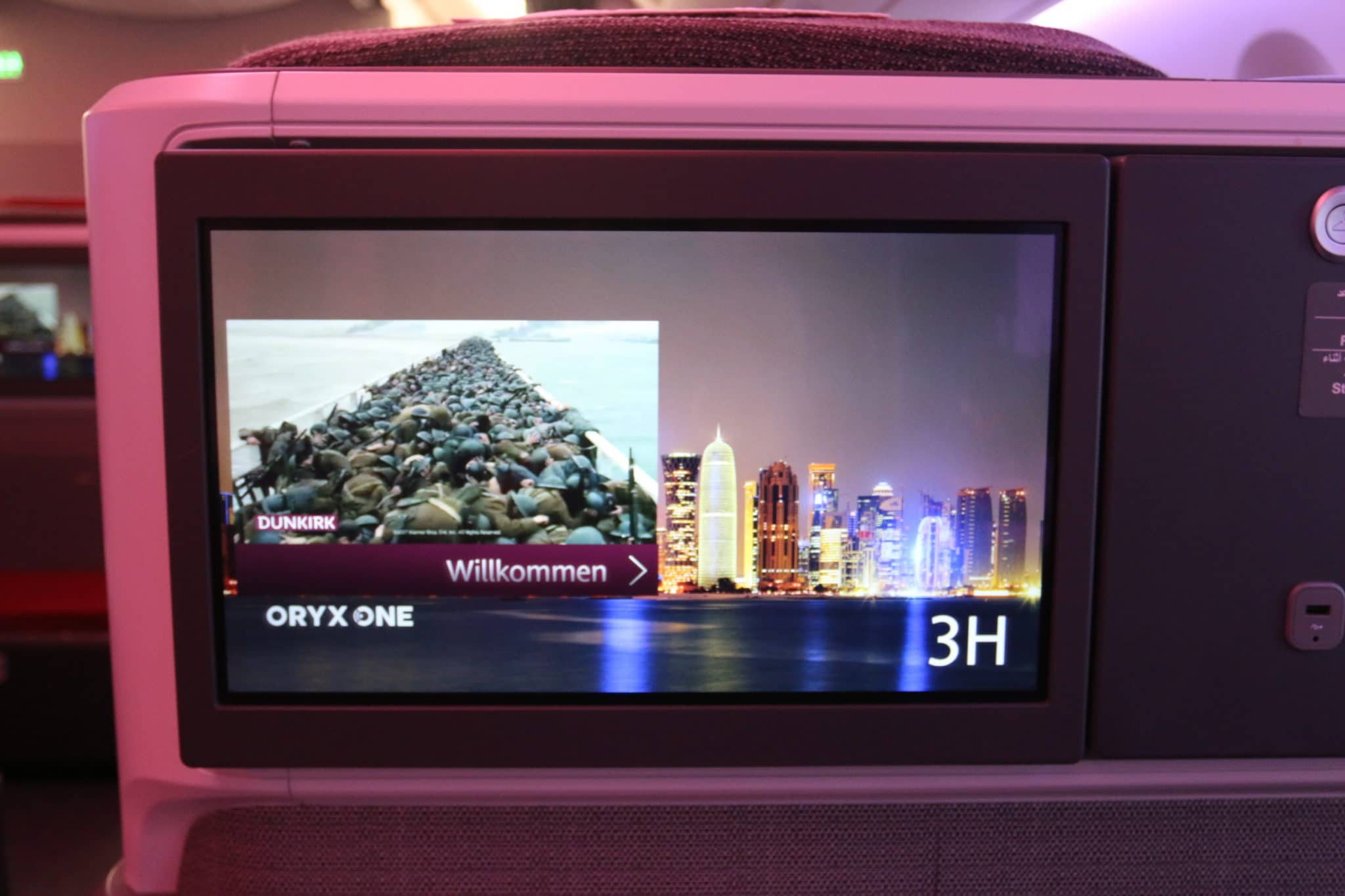 latam airlines business class a350 fernseher