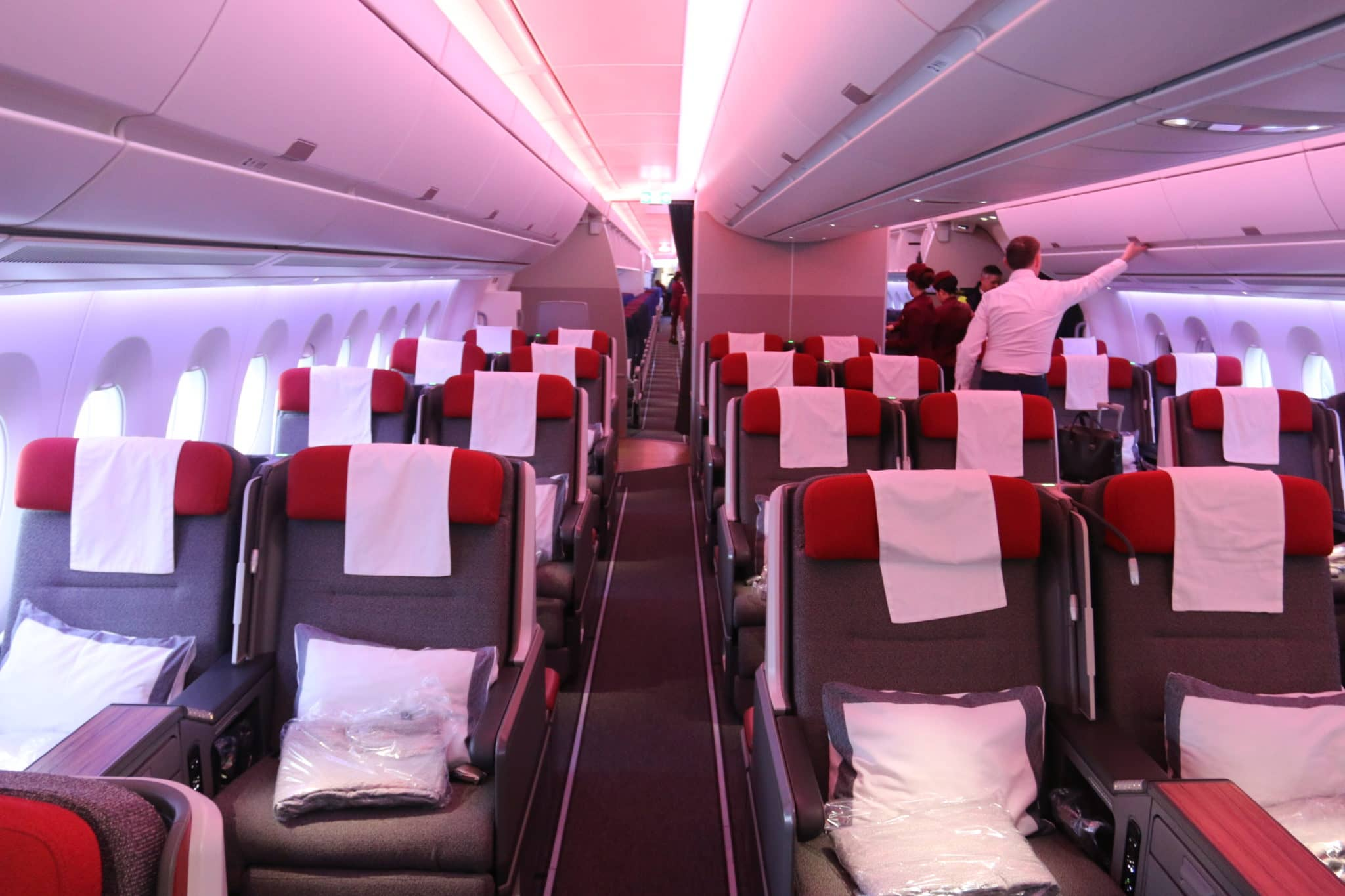 latam airlines business class a350 sitzreihe