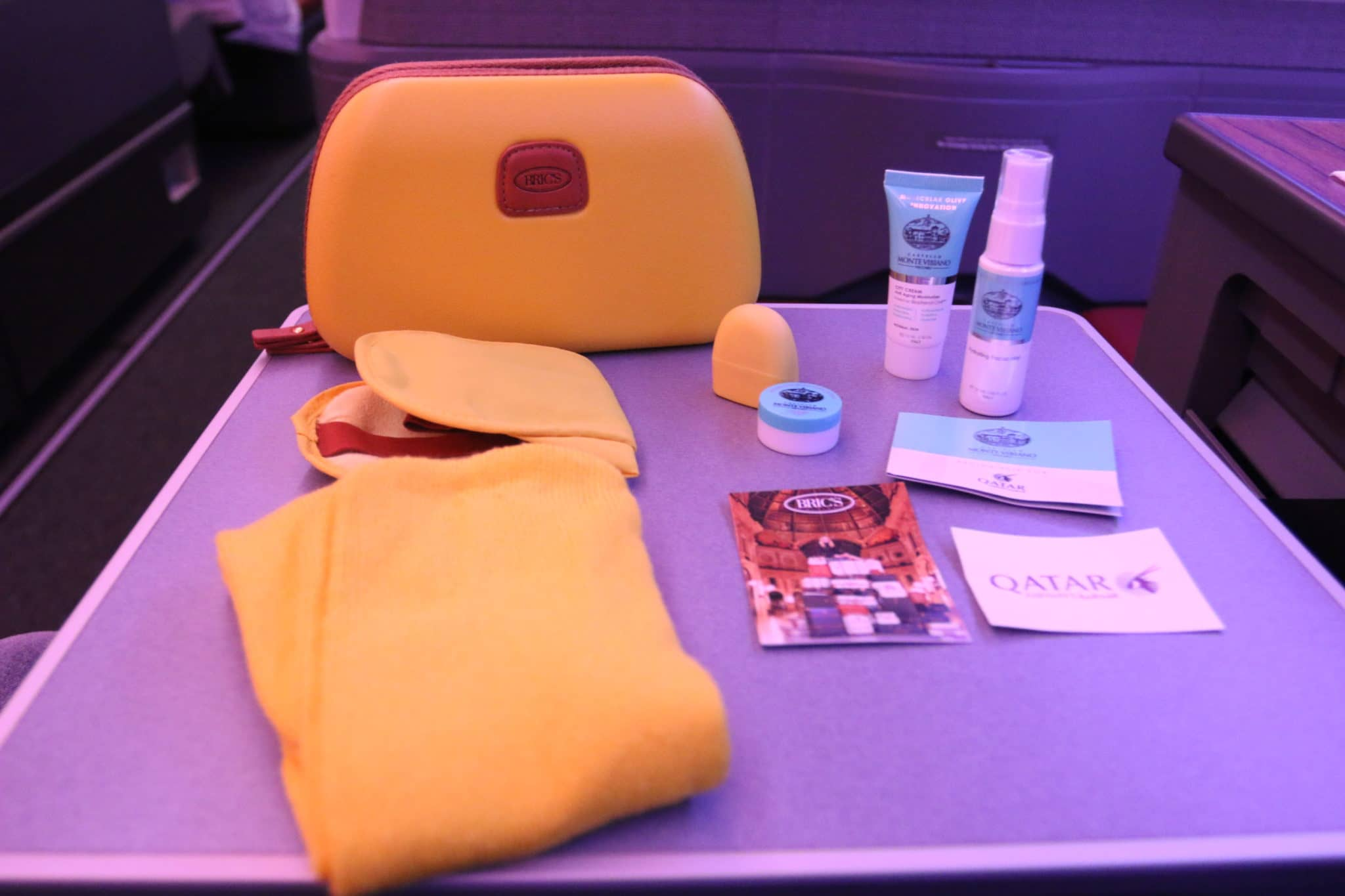 qatar airways business class a350 amenity kit ii