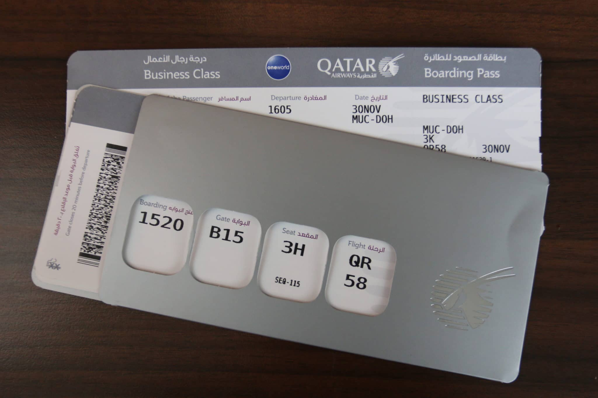 qatar airways business class a350 ticket