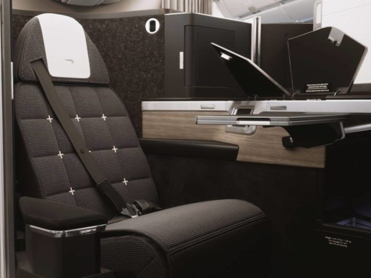 British Airways Club Suite 4 3