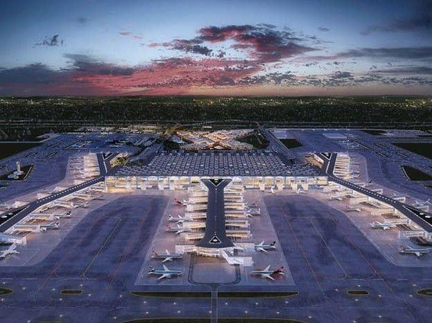 Neuer Istanbuler Flughafen Coypright 4 3