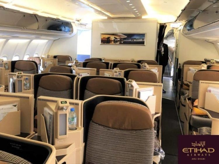 Etihad A330 Business Class Belgrad New York 4 3