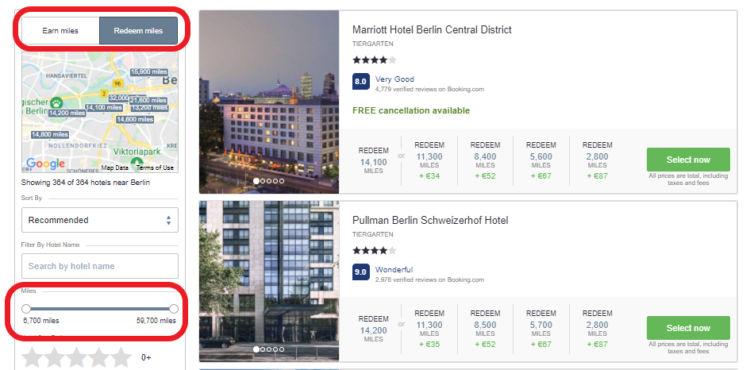 Life Miles Hotels Suchergebnisse