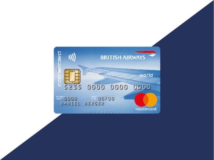 cornercard british airways classic kreditkarte beitragsbild