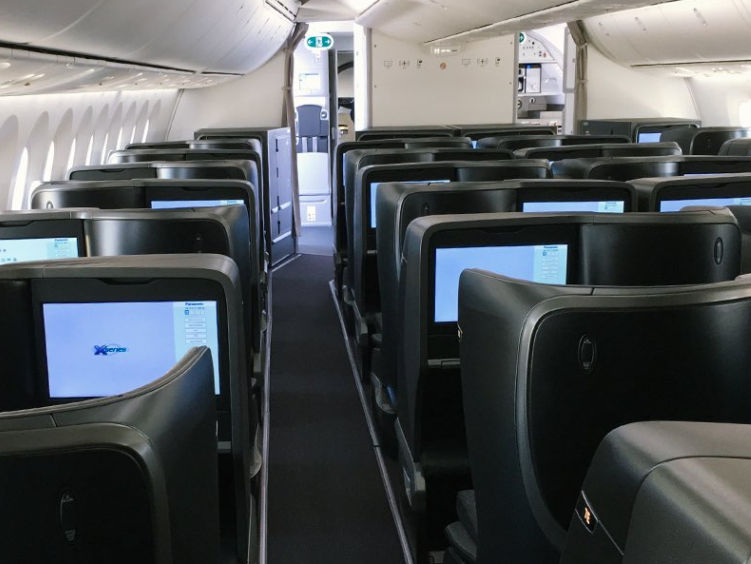 Turkish Airlines 787 9 Business Class 2 4 3