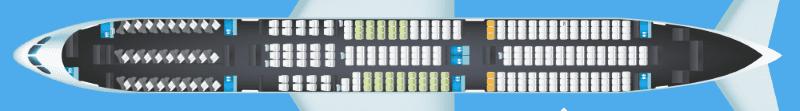 Air New Zealand 787 9 V2 Seatmap Copyright