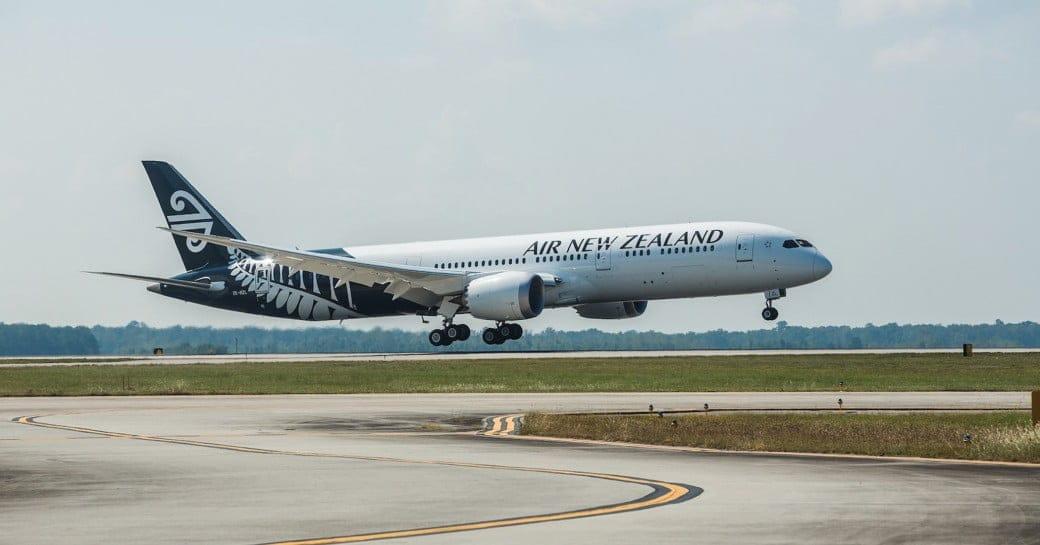 Air New Zealand Boeing 787 9 Landung Copyright