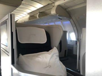 british airways business class boeing 747 blick nachbarsitz