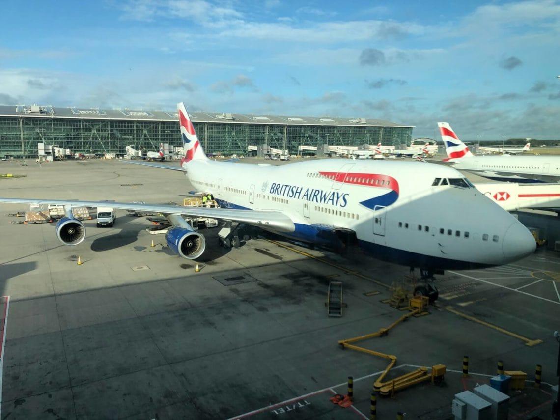 British Airways Business Class Boeing 747 Flugzeug