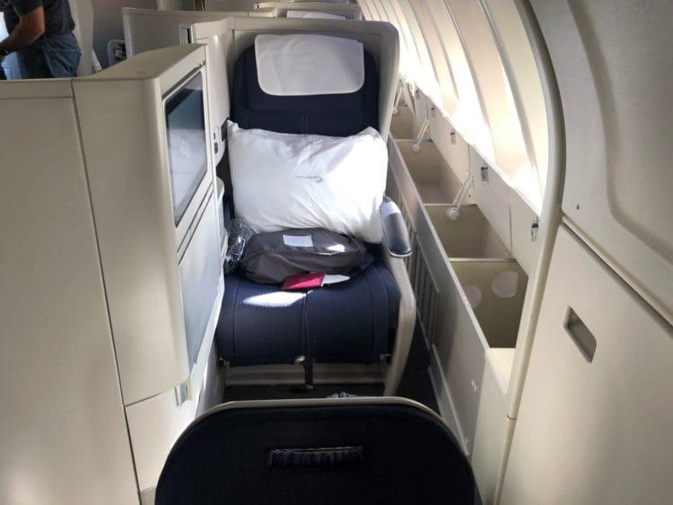 british airways business class boeing 747 sitz 62k