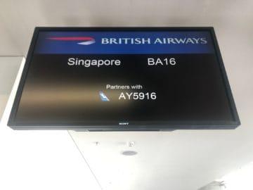 british airways first class boeing 777 flugnummer