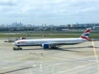 British Airways First Class Boeing 777 Flugzeug