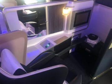 british airways first class boeing 777 sitz
