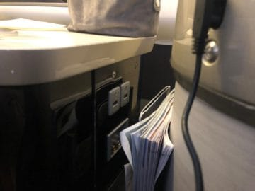 british airways first class boeing 777 usb anschluesse