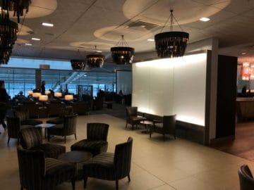 british airways galleries club lounge london heathrow terminal 5 b gates blick in den hauptbereich