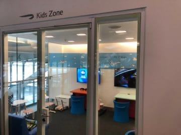 british airways galleries club lounge london heathrow terminal 5 b gates kids zone