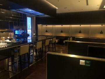 british airways lounge singapore concorde bar hauptbereich