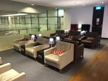 british airways lounge singapore hinterer teil der lounge